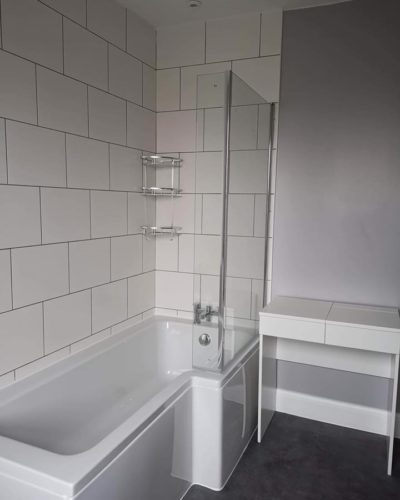 Shower bath installation n Trowbridge