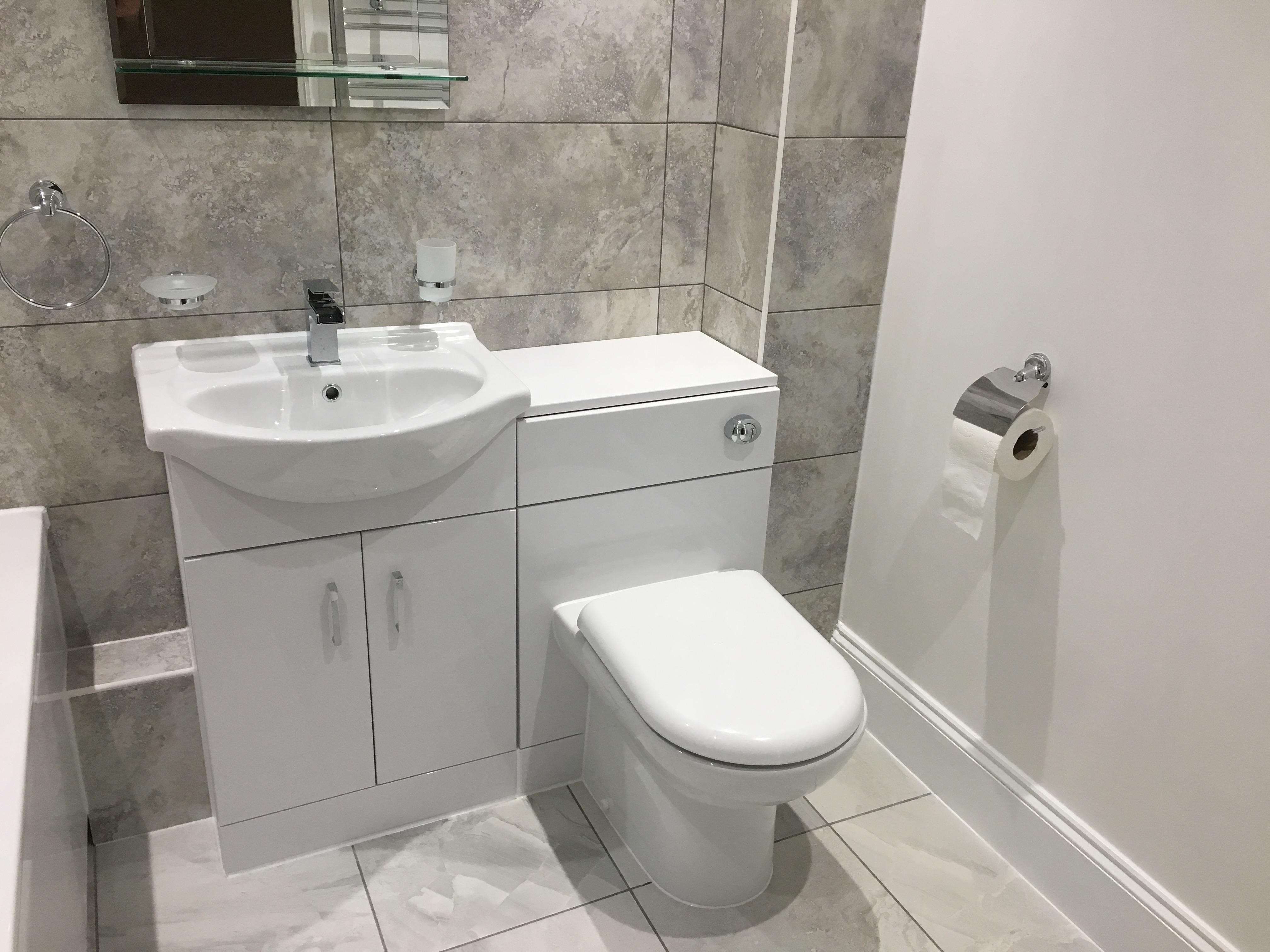 Bathroom refurbishment in Chippenham