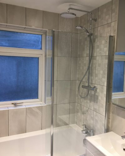 Bathroom renovation done by Anton Plumbing & Heating in Bath
