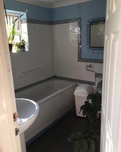 Old bathroom before refurbishing